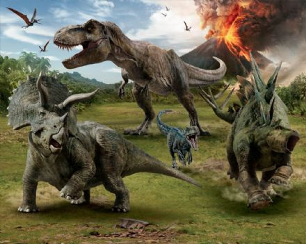 Wall mural wallpaper Jurrasic World Fallen Kingdom